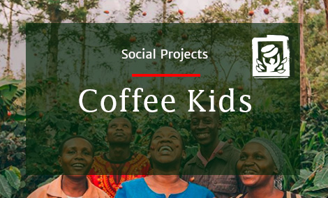 We take on responsibility for the global coffee community and therefore support Coffee Kids. Find out, what Coffee Kids does, what their misson and vision is and how you can support the project.