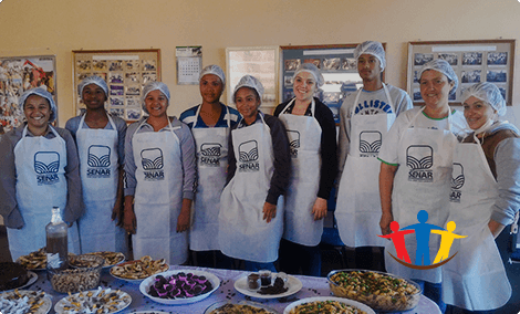 Supporting the next generation of local coffee farmers is a crucial part of doing sustainable business.Casa da Criança e do Jovem Amparense is one of the youth facilities we are happy to support.